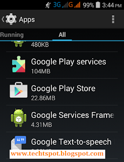 Fix Google Play Store Error 192 - 2