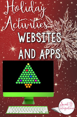 Enjoy the holiday season with these fun websites and apps for your classroom. These are high-interest activities to practice math and problem-solving skills.