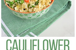 Cauliflower Fried Rice Recipe (Whole30)