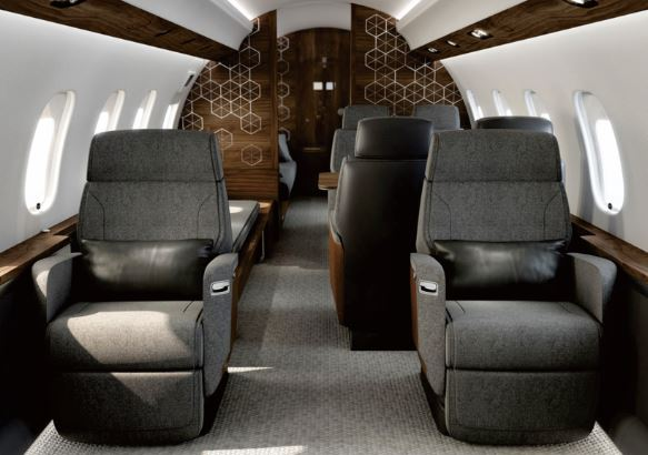Bombardier Global 6500 cabin