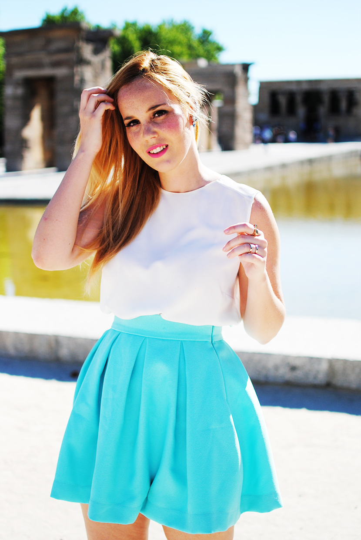 Earcuff, zara blouse, snb blog, nery hdez, preska, preska bloggers