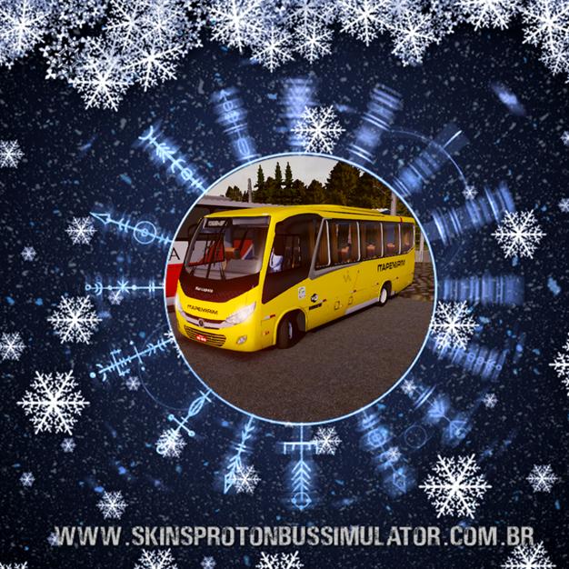 Skin Proton Bus Simulator - New Senior MB LO-916 BT5 Viação Itapemirim