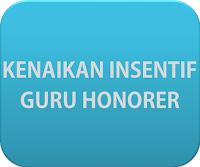 Anggaran Insentif Guru Honorer 2016 dinaikkan