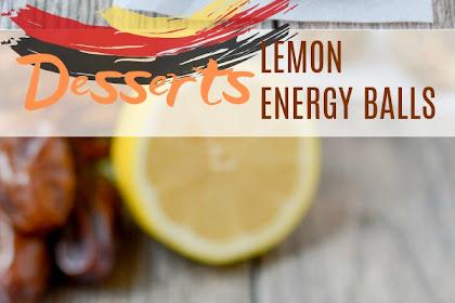 LEMON ENERGY BALLS
