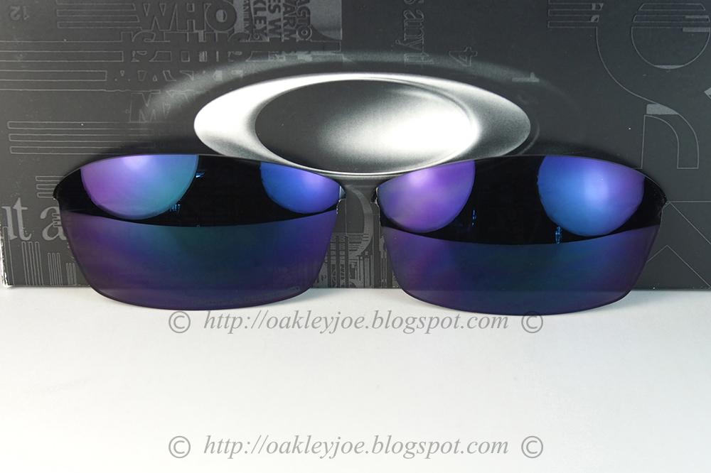 Oakley half jacket replacement lenses black iridium