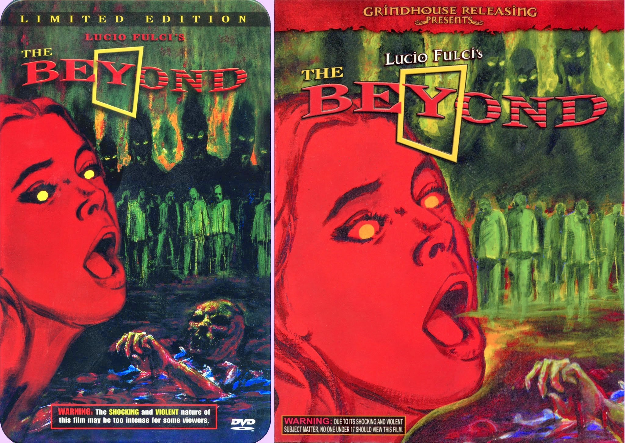 DVD Exotica: Beyond Grindhouse's The Beyond (DVD/ Blu-ray