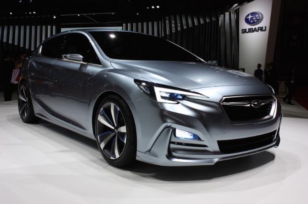 2020 Subaru Impreza redesign