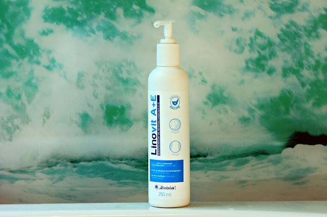 Linovit A+E dermatologiczny żel do mycia z witaminami A i E
