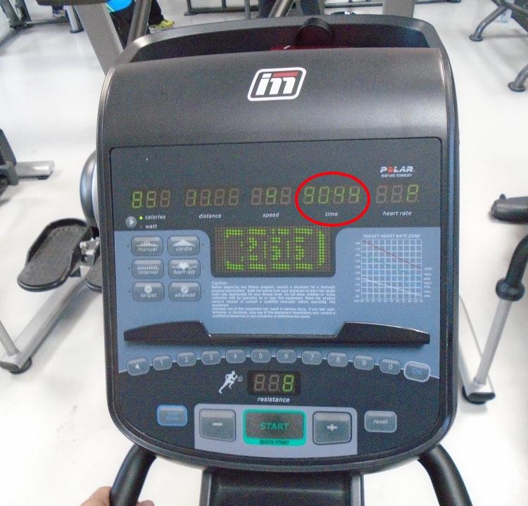 Sant forme bonheur 90 minutes de cardio par jour - Compteur velo elliptique ...