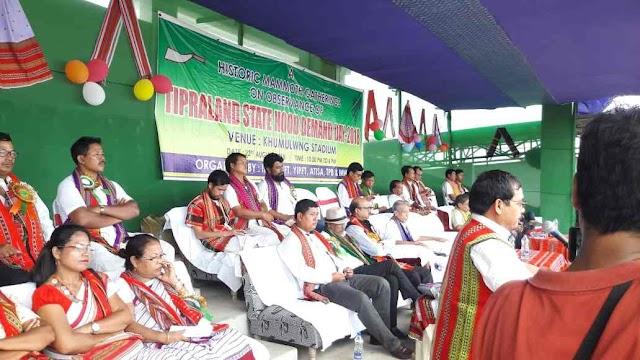 তিপ্রাল্যান্ডের পাশাপাশি ত্রিপুরায় NRC চাই: মেবার