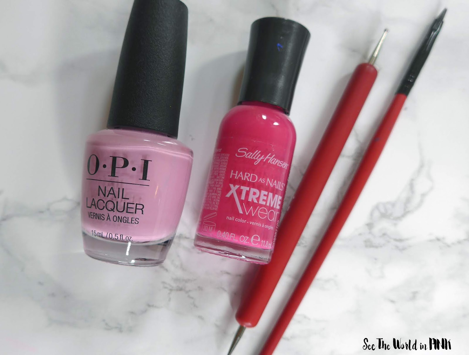 Manicure Monday - Bullying Awareness Nails for Pink Shirt Day