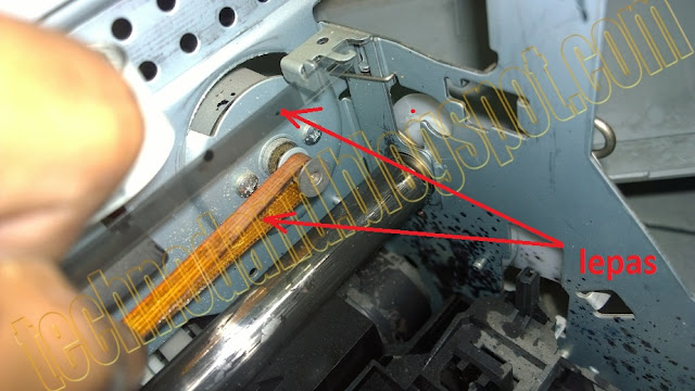Epson 1390 General error PW sensor dan tidak bisa mode photo