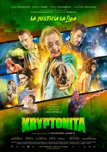 Kryptonita (2015) [DVDrip Latino] [Comedia]