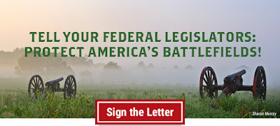 Tell Your Federal Legislators: Protect America's Battlefields