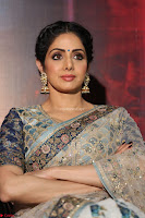 Sri Devi in designer saree stunning beauty at the launch of MOM movie Trailer~  Exclusive 046.JPG