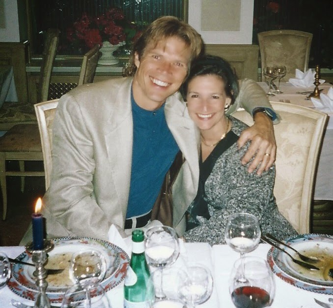 Karen with baritone ROD GILFRY in Munich