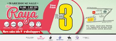 Summit Shoes Hari Raya Warehouse Sales
