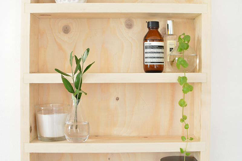 how to build bathroom storage