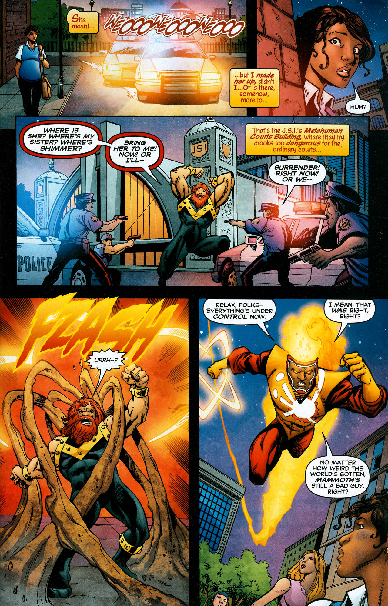 Read online Trinity (2008) comic -  Issue #19 - 27