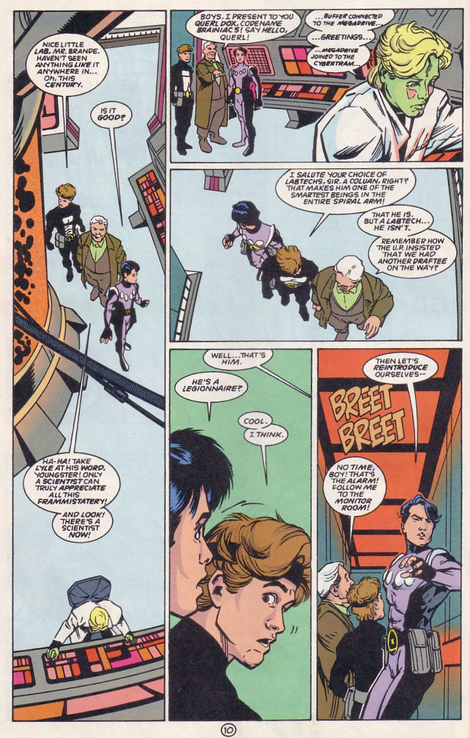 Legion of Super-Heroes (1989) 63 Page 10
