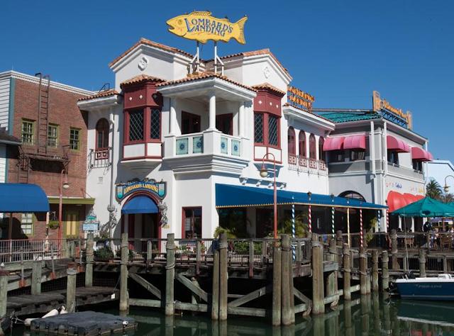 O restaurante Lombard's na Universal Studios em Orlando é uma das melhores opções para quem quer aproveitar uma refeição a la carte em um dia de parque.