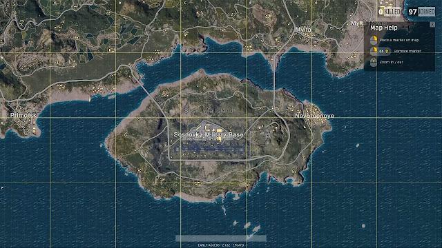 أهم الخرائط فى ببجى موبايل