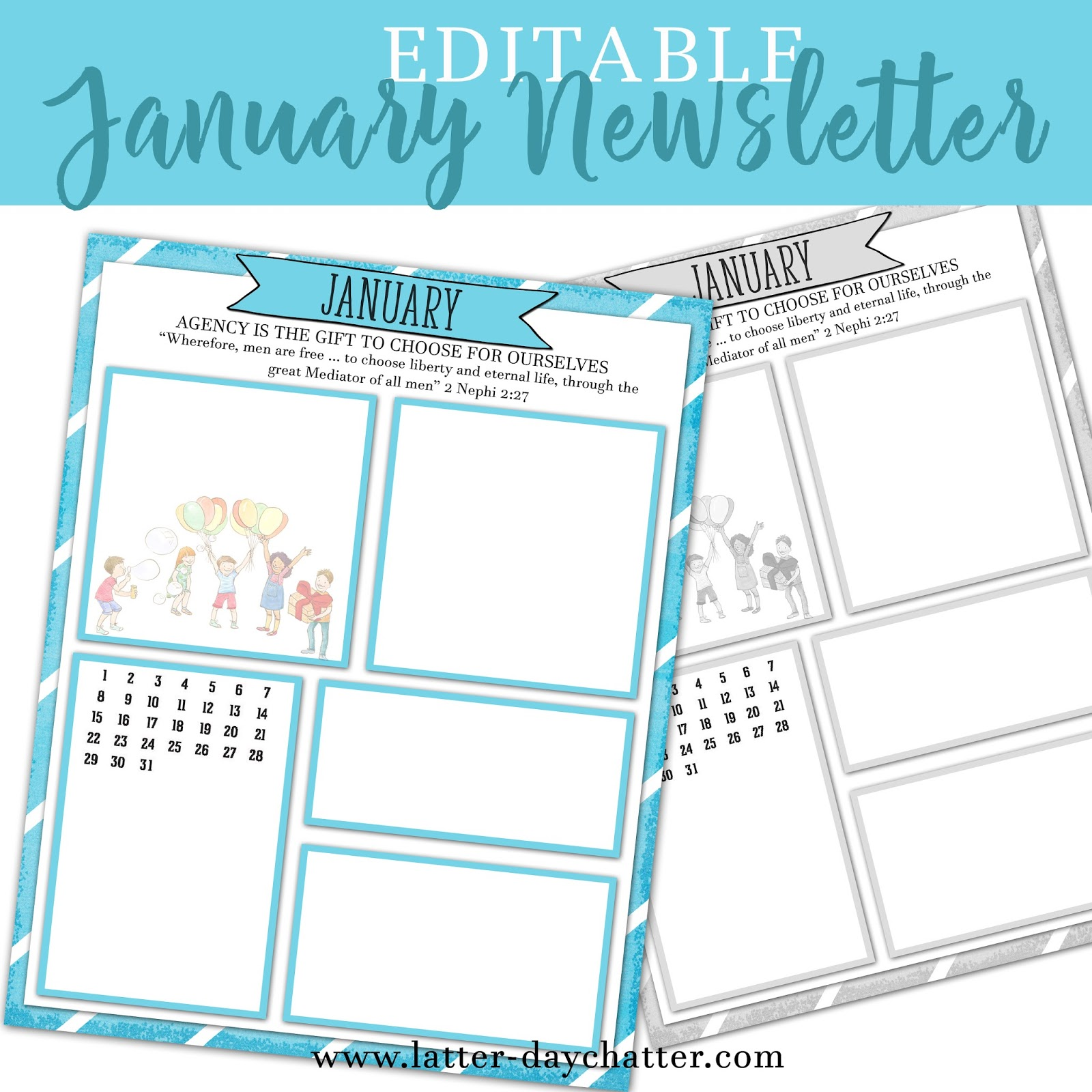 januarypreview January Kindergarten Newsletter Template on cixi angel, for plants, end year, things practice, fair use, december gingerbread,