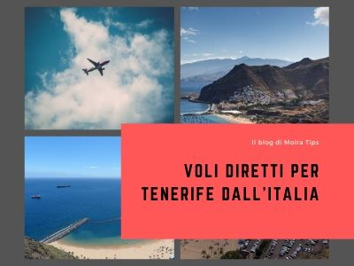 VOLI DIRETTI PER TENERIFE dall'Italia 2020