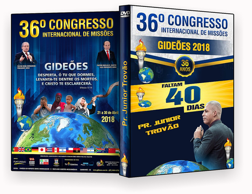 CAPA DVD – Gideões 2018 – Pr. Junior Trovão – ISO