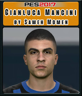 PES 2017 Faces Gianluca Mancini by Sameh Momen