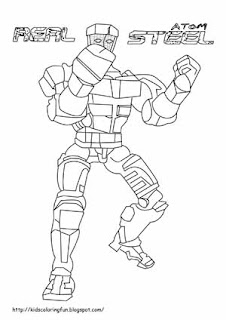 zeus real steel coloring pages | Zeus Coloring Page Free Online