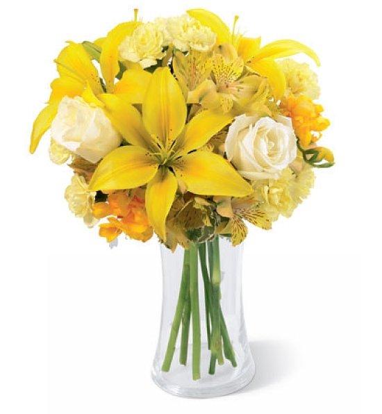 Allinallwalls : Yellow flowers bouquet wallpapers, Flowers ...