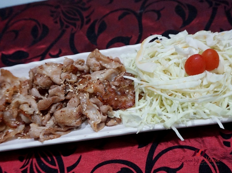 japanese pork ginger cabbage salad recipe