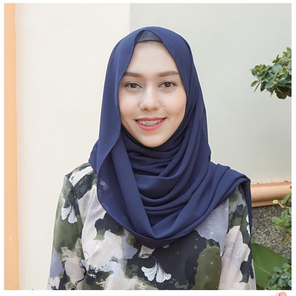 Jilbab Pashmina Ceruty Modis Trendy Terbaru Cantik
