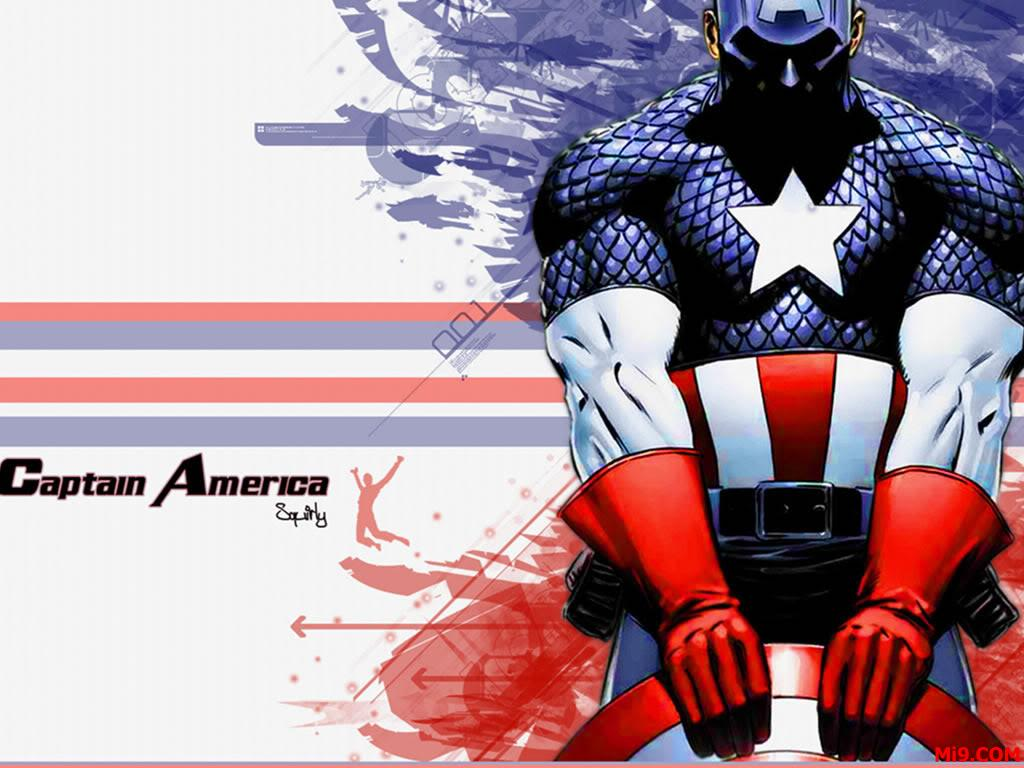 Captain America Cartoon Images: Captain America Wallpapers