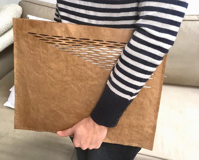 Jak si vyrobit obal na notebook z recyklovaného papíru