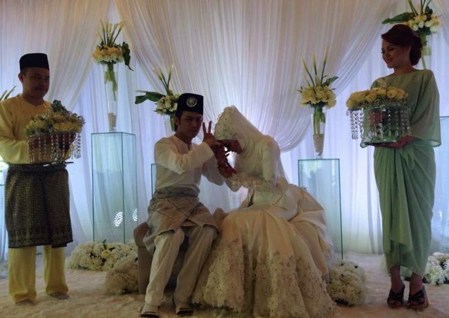 Sekitar majlis nikah Akim dan Stac