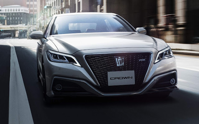 Novo Toyota Crown 2019
