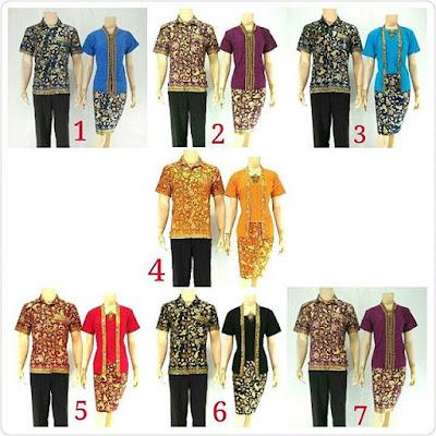 Batik Sarimbit Velisa Rose