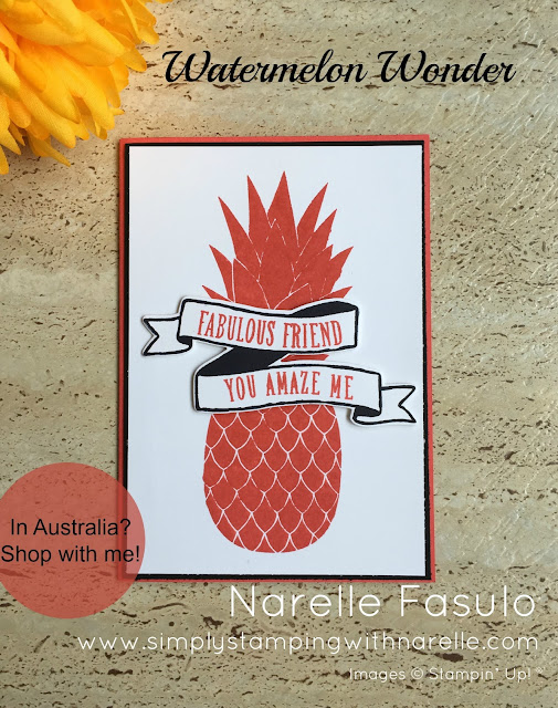 Watermelon Wonder - Simply Stamping with Narelle - available here - https://www3.stampinup.com/ecweb/default.aspx?dbwsdemoid=4008228