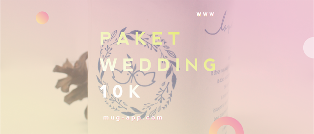 Paket Hemat Souvenir Wedding, Hanya 10.000