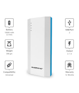 Ambrane P-1111 10000 mAh Power Bank
