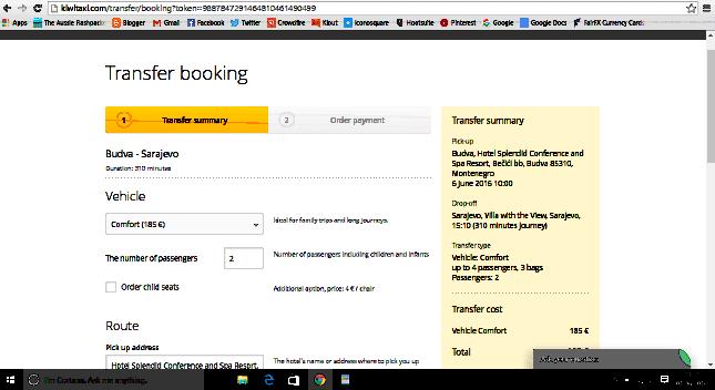 Kiwitaxi Online Booking