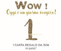 Logo Vinci gratis ogni giorno una carta prepagata Promod da 150 euro
