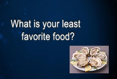 least favorite food