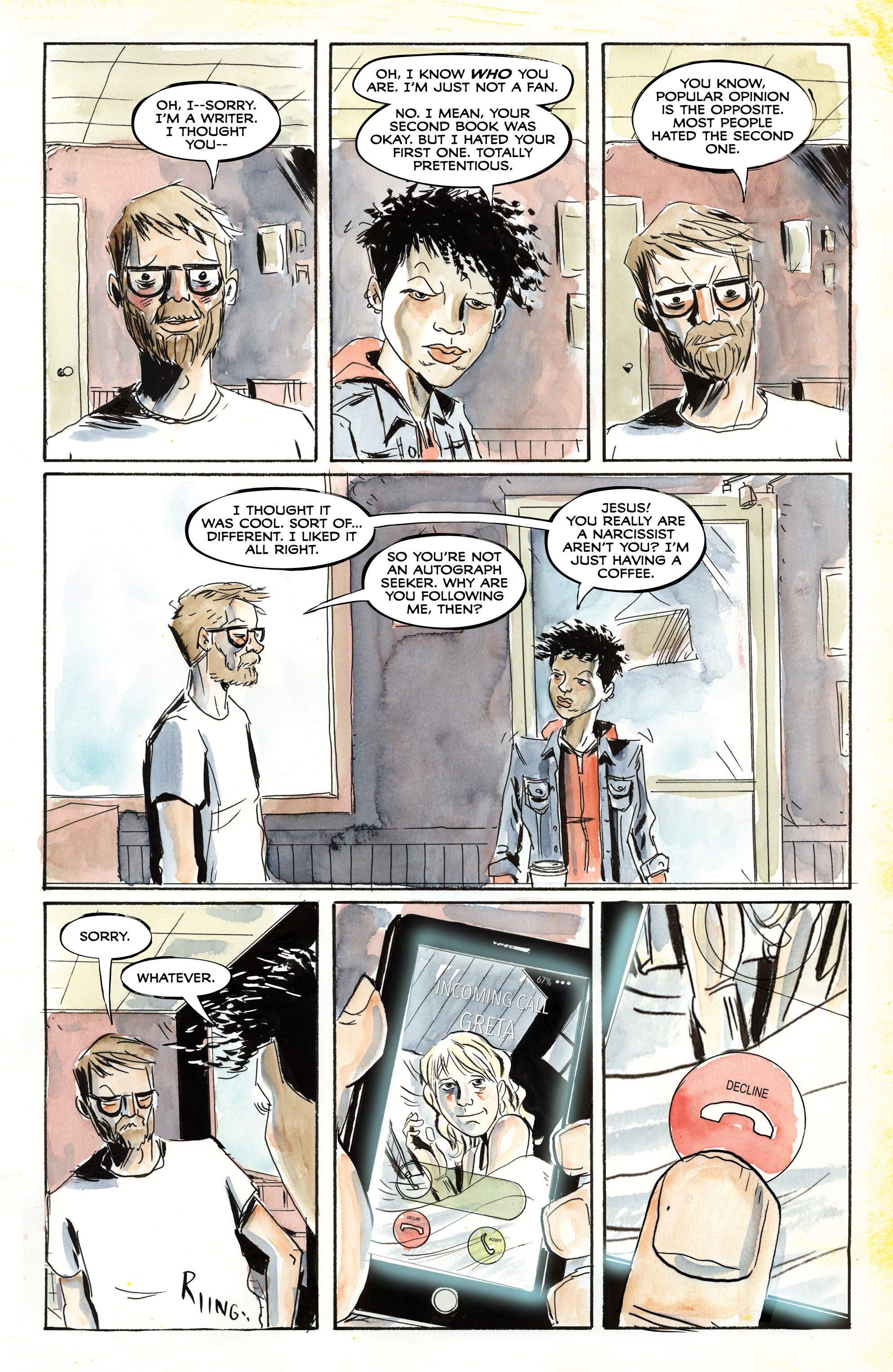 Read online Royal City comic -  Issue #4 - 9
