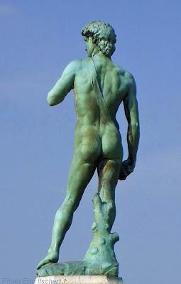 Voyage à Florence, Sculptures, David, Florence, Michel Ange, bronze, copie,