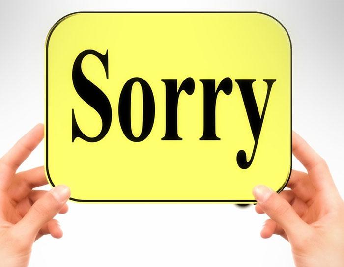 você vai até a pessoa e vai pedir desculpas sinceras