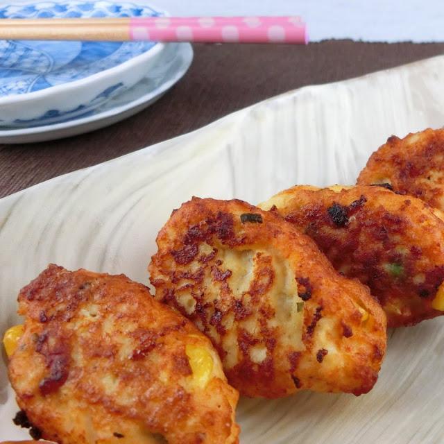 お弁当おかずレシピ!ひき肉と豆腐のフワッとミックスベジタブル揚げ
