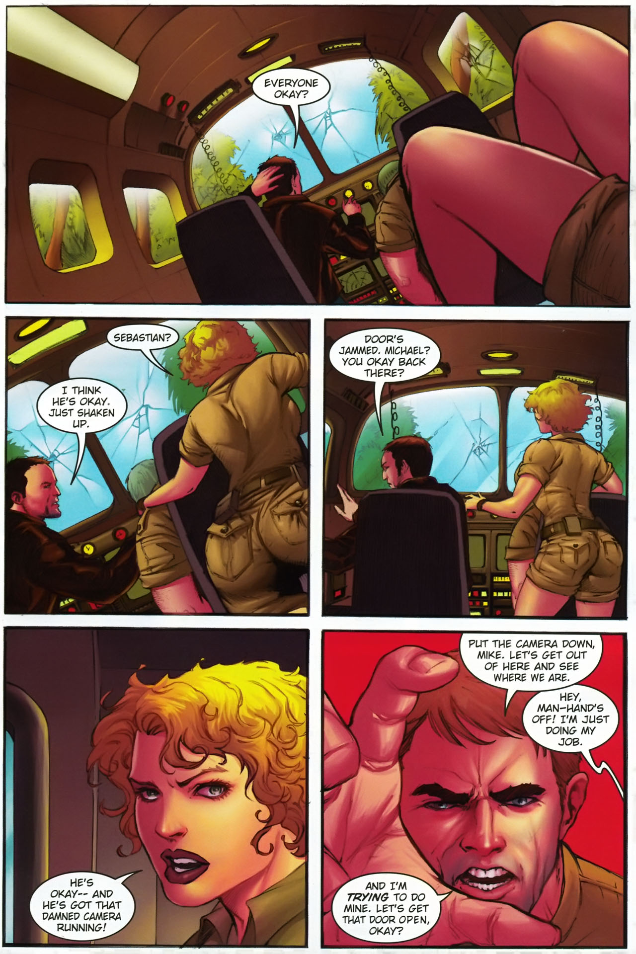 Read online Jungle Girl comic -  Issue #1 - 6